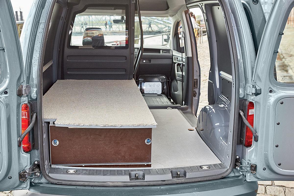 VW-Caddy-Ausbau im Wohnmobil-Test - Bilder - autobild.de