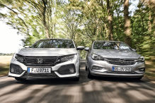 Honda Civic/Opel Astra: Test
