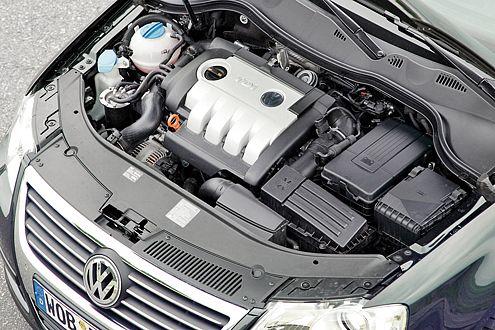 Kräftig und sparsam: Der 2.0 TDI im VW Passat Variant.