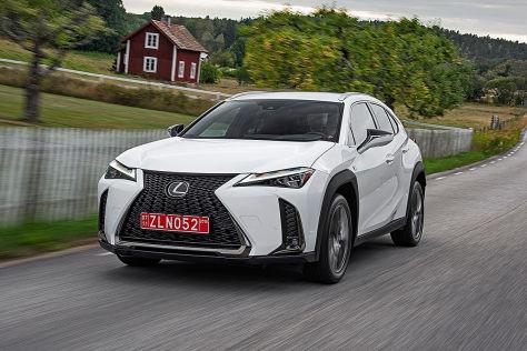 lexus ux: testfahrt im neuen suv aus japan - autobild.de