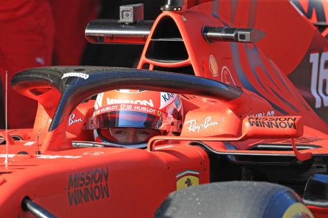 Formel 1: Leclerc mit Kampfansage