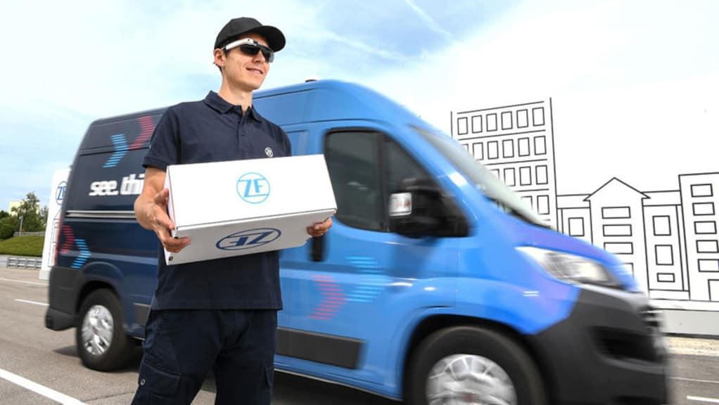 Innovation Van von ZF