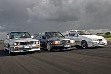 BMW M3/Ford Sierra Cosworth/Mercedes 190 Evo II: Vergleiche