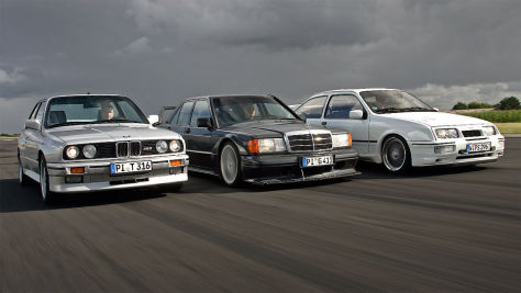 M3/Sierra Cosworth/190 2.5-16 Evo II: Test