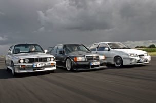 M3/Sierra Cosworth/190 2.5-16 Evo II: Test