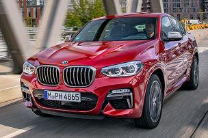 BMW X4 M40d: Test