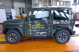 A6, Touareg, Jimny: Euro NCAP-Crashtest 2018
