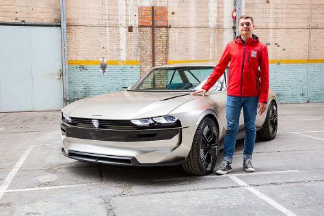 Peugeot E Legend 2018 504 Coupe Test Elektro Bilder Autobild De