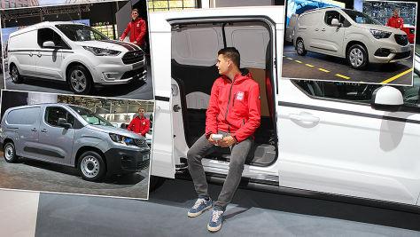 Neue XL-Lieferwagen: Test