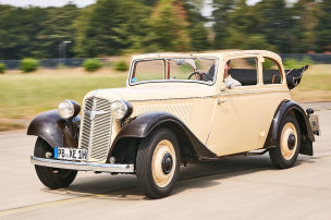 Mit Vorkriegsautos auf die Straße?