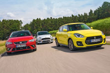 Ford Fiesta/Seat Ibiza/Suzuki Swift: Test