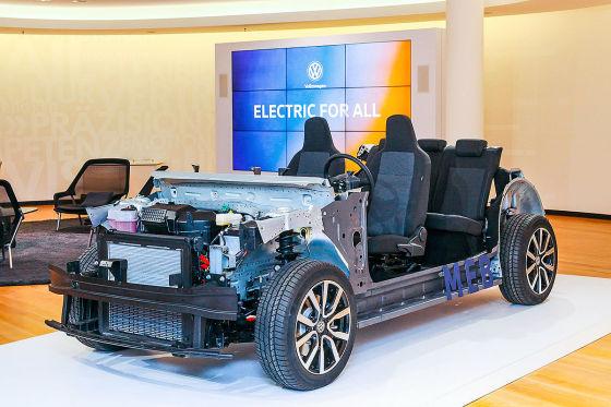 Elektro-Offensive von VW