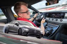 Erste Fahrt im Power-AMG
