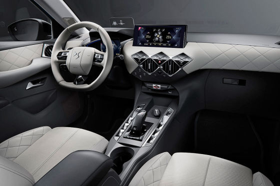 ds 3 crossback sitzprobe im ersten psa elektro suv. Black Bedroom Furniture Sets. Home Design Ideas