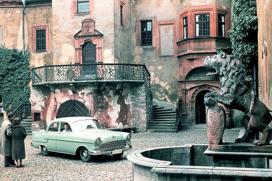 Opel Kapitän in den 50ern