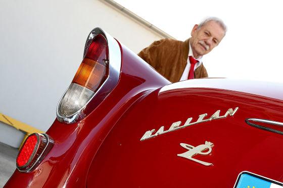 Opel Kapitän und Friedrich Müller