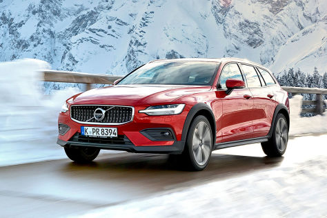 Volvo V60 Cross Country 2019 Test Preis Bilder Motor