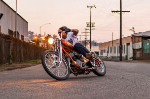 Hei�e Custom-Harleys
