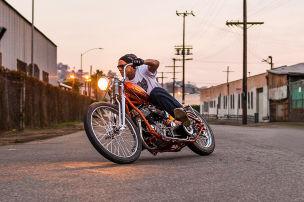 Heiße Custom-Harleys