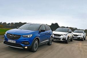 Opel-SUV mit Schwächen