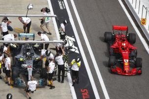 Ferrari kämpft mit den Reifen