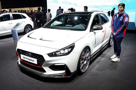 Hyundai I30 N Option Studie 2018 Optik Paket Autobildde