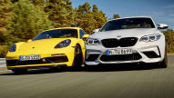 BMW M2 Competition/Porsche 718 Cayman GTS: Test