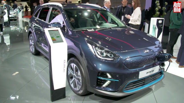 Video Kia E Niro Paris 2018 Autobildde