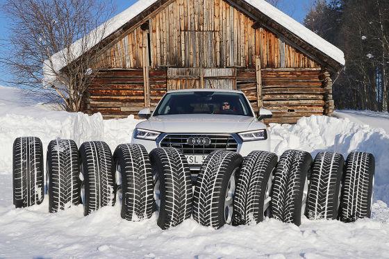 SUV-Winterreifen im Test
