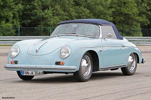 Porsche in Kanal versenkt