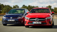 Mercedes A 250/VW Golf GTI: Test