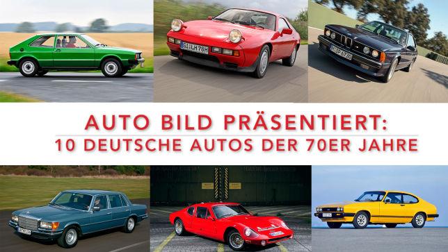 Deutsche Autos aus den 70er Jahren