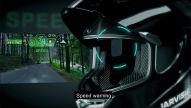 Motorradhelm mit Sprachsteuerung
