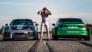 Elektro-Sportler vs Porsche 911 GT2 RS