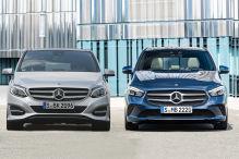 Mercedes B-Klasse (2018): Alt gegen Neu im Vergleich