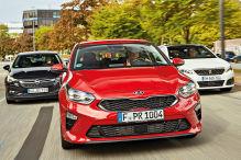 Kia Ceed/Opel Astra/Peugeot 308: Test