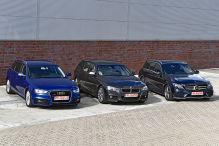 Audi A4, BMW 3er, Mercedes C-Klasse: Gebrauchtwagen-Test