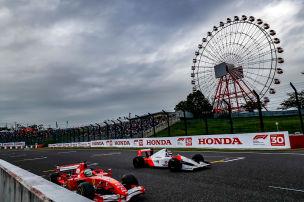 Häkkinen & Massa zurück im F1-Cockpit