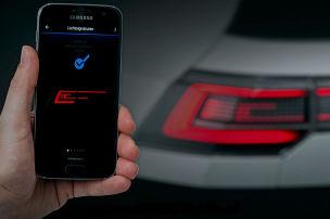 App ändert Lichtsignatur