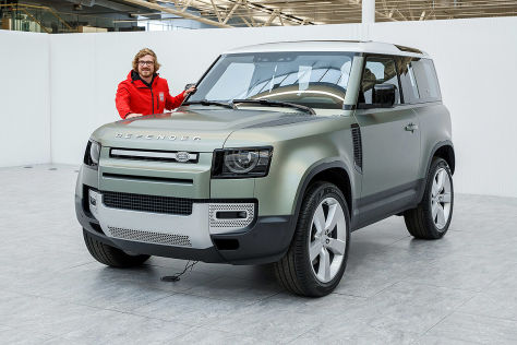 Land Rover Defender (2020): Preis, Test, 90, 110, Marktstart - autobild.de