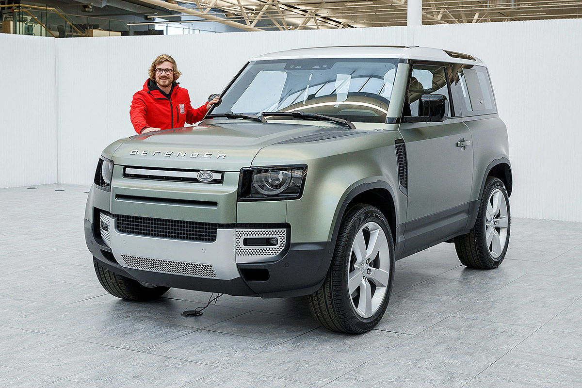 Land Rover Defender (2019) 14