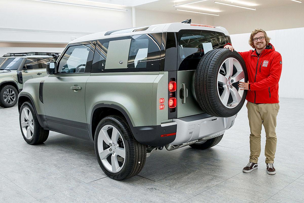 Land Rover Defender (2019) 18