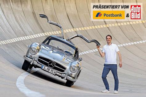 Postbank Serie: Mein erster Traumwagen Mercedes 300 SL