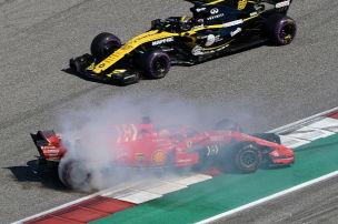 Rosberg & Co. über Vettels Dreher