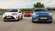 Ford Fiesta ST/Toyota Yaris GRMN/VW Polo GTI: Test
