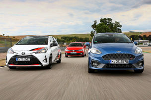 Ford Fiesta ST/Toyota Yaris GRMN/VW Polo GTI: Test