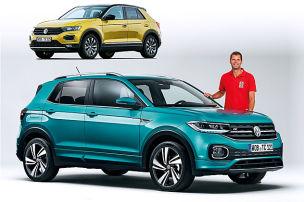 VW T-Cross/VW T-Roc: Vergleich