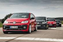 Vier getunte VW Up GTI im Test
