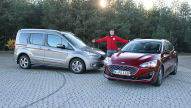 Ford Focus Turnier Vignale vs. Ford Tourneo Connect