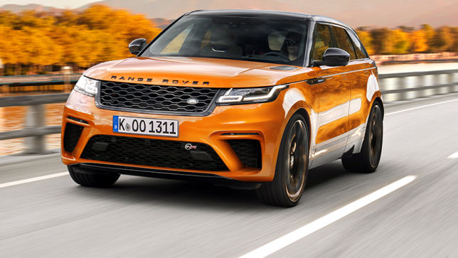 V8-Power im Briten-SUV